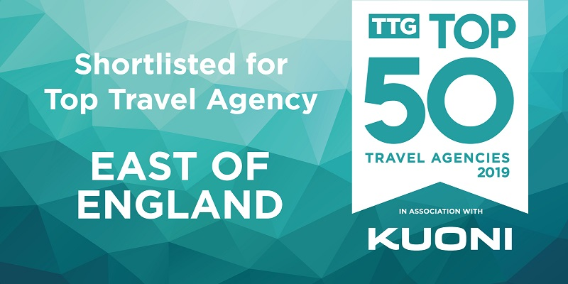 Best Travel Agents In The UK – shortlist success!