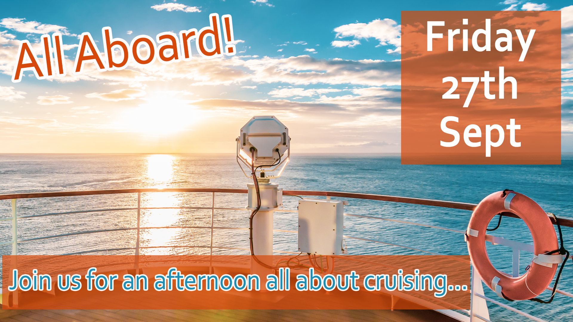 Cruise Event Chelmsford Travel