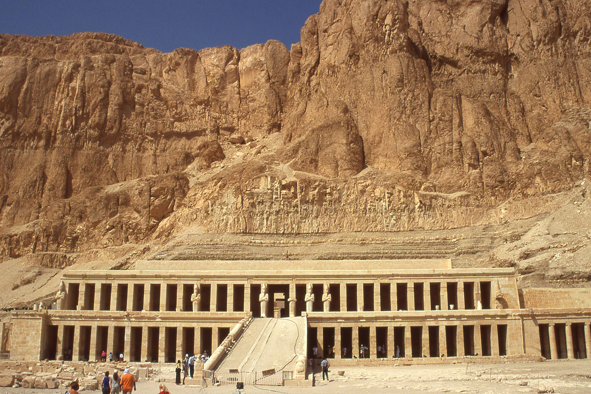 Winter sun holidays to the Valley of the Kings in Egypt courtesy of The Cooperative Travel agents Braintree and Chelmsford