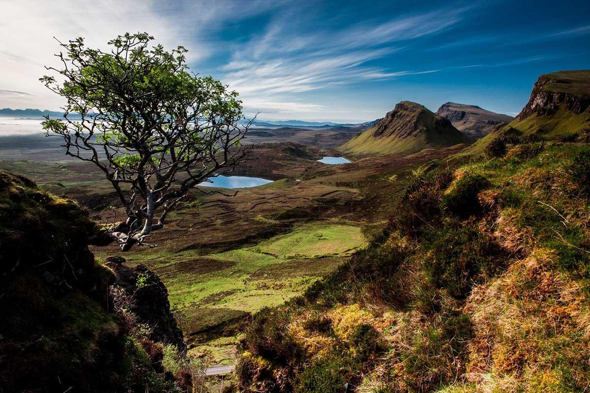 Scottish Island Camping holidays in the UK
